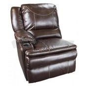 Lippert Components Momentum Theater Marquee Collection Right Arm Recliner with Heat/Massage Functions