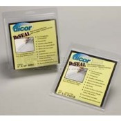 """Dicor 4"""" x 50' TPO Roll of White Diseal Water Resistant Sealing Tape"""