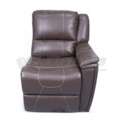 Thomas Payne Theater Seating Majestic Chocolate Left Arm Recliner