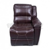 Thomas Payne Theater Seating Jaleco Chocolate Left Arm Recliner
