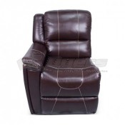 Thomas Payne Theater Seating Jaleco Chocolate Right Arm Recliner