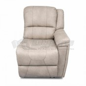 Thomas Payne Theater Seating Grantland Doeskin Left Arm Recliner