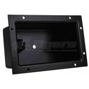 "Rigid Industries Black 4"" Light Bar Flush Mount Bucket"