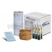 Dicor White Rubber Roof Installation Kit