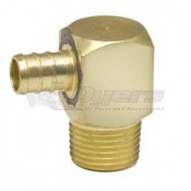 "BestPex 1/2"" Insert x 1/2"" MPT Elbow Adapter"