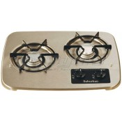 Suburban Stainless Steel 2-Burner Drop-In Cooktop