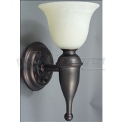 Gustafson Weathered Copper Sconce Light