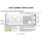 Suburban Furnace Extension Vent Kit