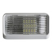 Diamond White LED Clear Lens Porch Light without Switch