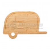 CAMCO Life is Better at the Campsite Retro RV Bamboo Cutting Board
