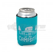 CAMCO Life is Better at the Campsite Teal Can Holder