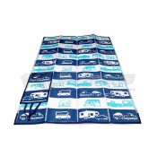 """CAMCO Life is Better at the Campsite 60"""" x 78"""" Picnic Handy Mat"""