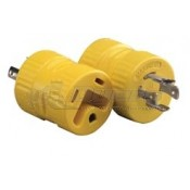 30 Amp Female to 20 Amp Locking 4-Prong Male