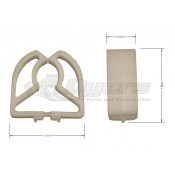 Command Replacement Plastic Clamps for Combi Fan/Light