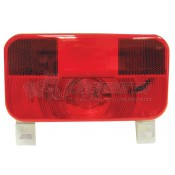Peterson #259 Series Surface Mount Taillight with License Bracket