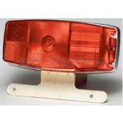 Miro-Flex #342 Taillight with License Bracket