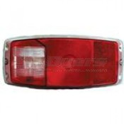 Miro-Flex #340 Taillight with Back-Up and License Illumination Replacement Lens