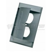 Supply Metal Receptacle Cover