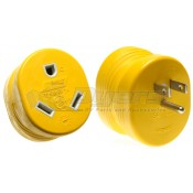 Camco 15 Amp M to 30 Amp F Electrical Adapter