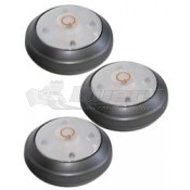 Rite Lite LED Puck Lights - 3 Pack