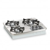 Dometic Wedgewood Vision 3-Burner Stainless Steel Cooktop