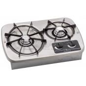 Dometic Wedgewood Vision Stainless Steel 2-Burner Cooktop