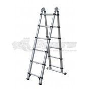 Telesteps Combo 250lb 6' Step and 12' Telescoping Extension Ladder