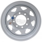 Trailer Wheel; 16 Inch Diameter x 6 Inch Width; 8 x 6.50 Inch Bolt Pattern