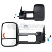 K-Source 2003 to 2006 Silverado/Sierra Black Extendable Towing Mirrors