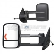 K-Source 07-12 GMC/Silverado 1500/2500/3500 Extendable Towing Mirrors