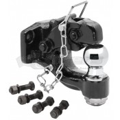 "Tow Ready 16,000 lbs. (GTW) Pintle Hook with 2"" Ball"
