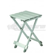 Stylish Camping Small Aluminum Table/Stool