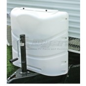 Camco 20lb Colonial White Double Propane Tank Cover