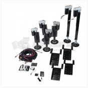 Lippert Components Ground Control® 3.0 Automatic One-Touch Electric Leveling System for 5th Wheels; 6-Point