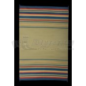 Faulkner 8' x 20' Blue/Brick/Beige/Green Deluxe Multi-Purpose Mat