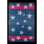 Faulkner 8' x 20' Stars 'n Stripes Reversible Deluxe Multi-Purpose Mat