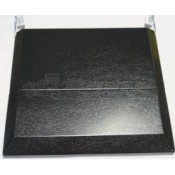 Suburban Black 3-Burner Bi-Fold Cover for Slide-In Cooktops and Gas Ranges