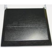Suburban Black 3-Burner Bi-Fold Cover for Slide-In Cooktops and Gas Ranges