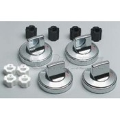 Range Kleen Chrome Replacement Knobs