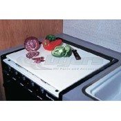 Camco Almond Stove Topper/Cutting Board