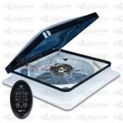 Fan-Tastic Vent Fan 7350 Series Smoke Dome Off White Garnish Remote Controlled