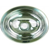 Scandvik Stainless Steel Oval Basin