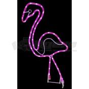 Ming's Decorative LED Rope Light 2ft Flamingo