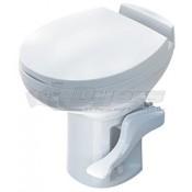 Thetford White Aqua Magic Residence Low Profile Foot Flush Toilet