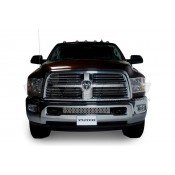 Putco Bumper Grille Insert - Dodge Ram HD - Stainless Steel - Punch Style Bumper Grille