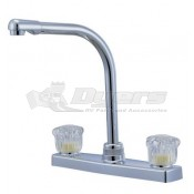 Relaqua High Spout Satin Nickel Kitchen Faucet