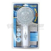 Camco White 4 Function Showerhead