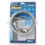 "Camco Chrome 60"" Flex Shower Hose"