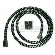 "Relaqua Chrome 60"" Shower Hose with Wall Mount"