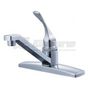 Relaqua White Single Lever Kitchen Faucet